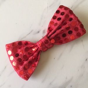 Accessories - 🍊 Red Bow tie Hair Clip